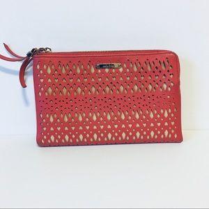 Stella & Dot Clutch Geranium Purse Wallet
